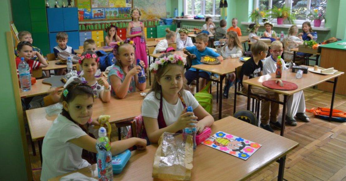 Piknik słowiański na Dzień Dziecka w SP4 w Obornikach