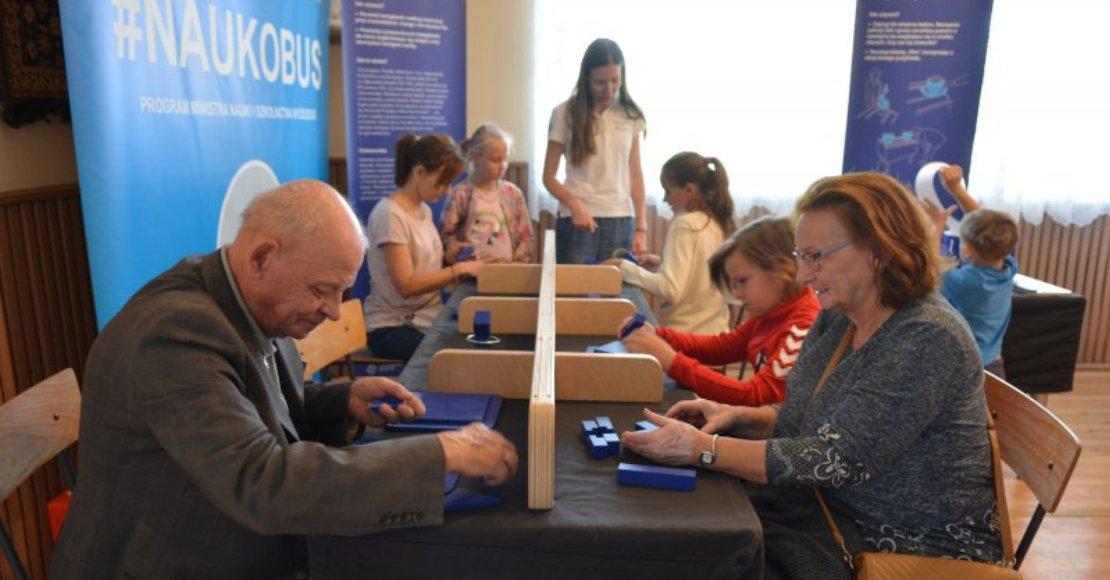 Mobilne Centrum Nauki Kopernik dotarło do Rożnowa