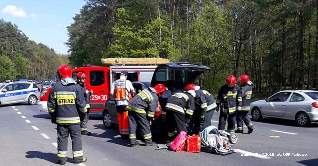 Wypadek w Wełnie