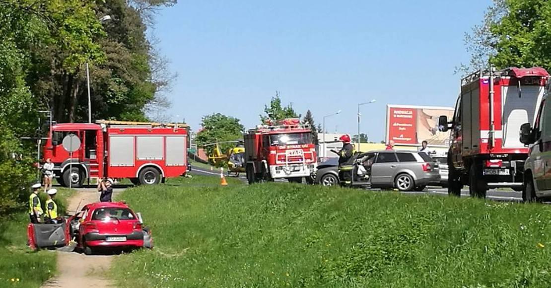 3 osoby odniosły obrażenia w wypadku w Dąbrówce Leśnej