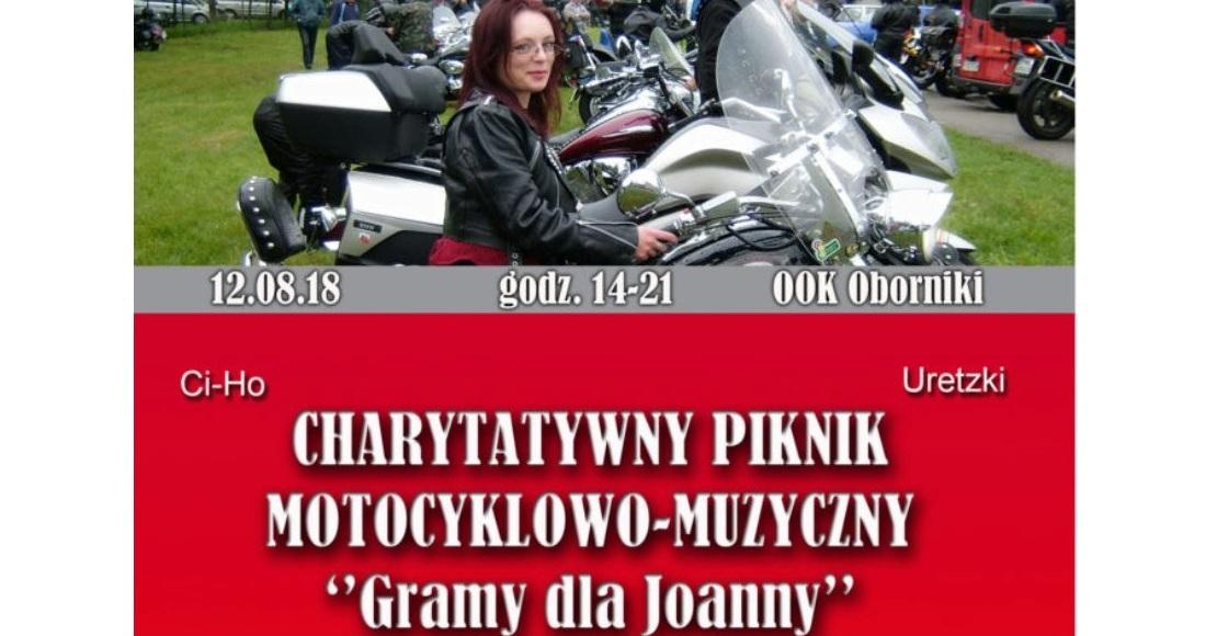 Kolejna akcja dla Joanny