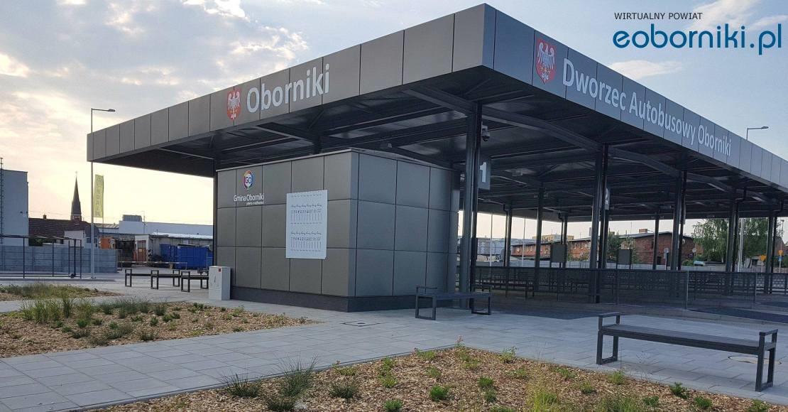 W poniedziałek 6 sierpnia odjeżdżamy z nowego dworca w Obornikach (film)