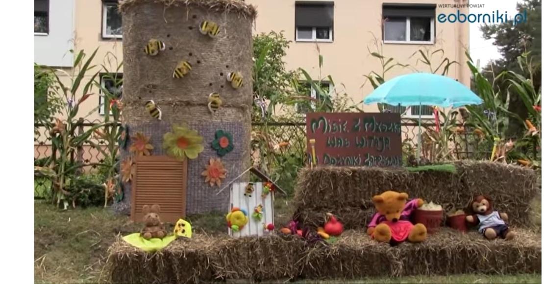 Wspaniałe dekoracje dożynkowe w Wełnie, Grudnie i Kaziopolu (film)