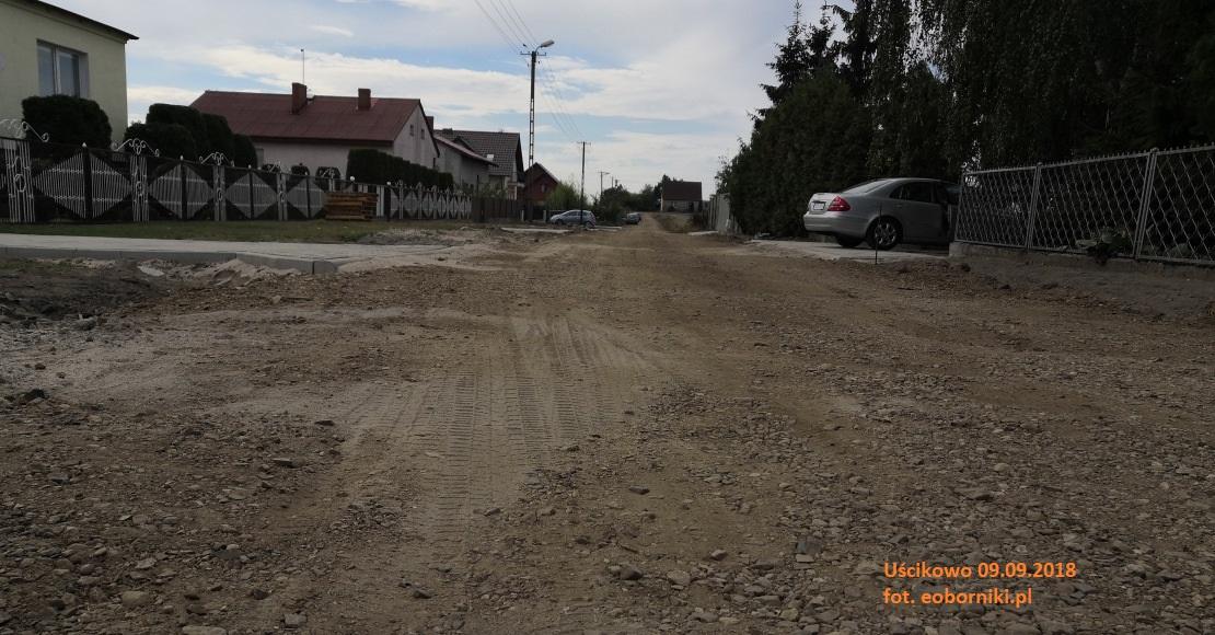 Do końca września ma być oddana kolejna droga w gminie Oborniki