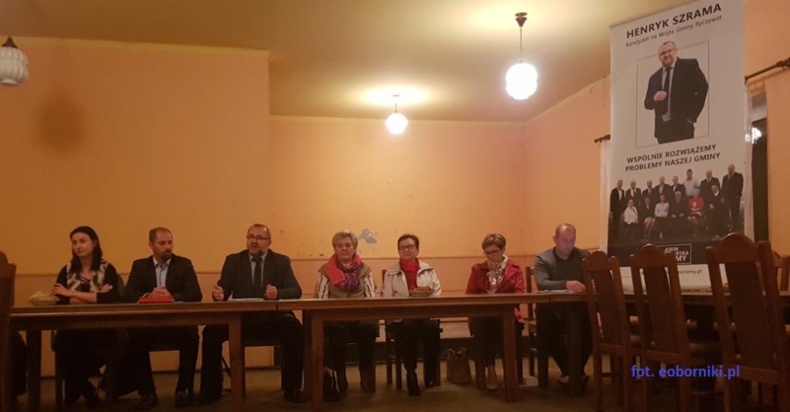 Zebranie przedwyborcze w Nininie (foto)