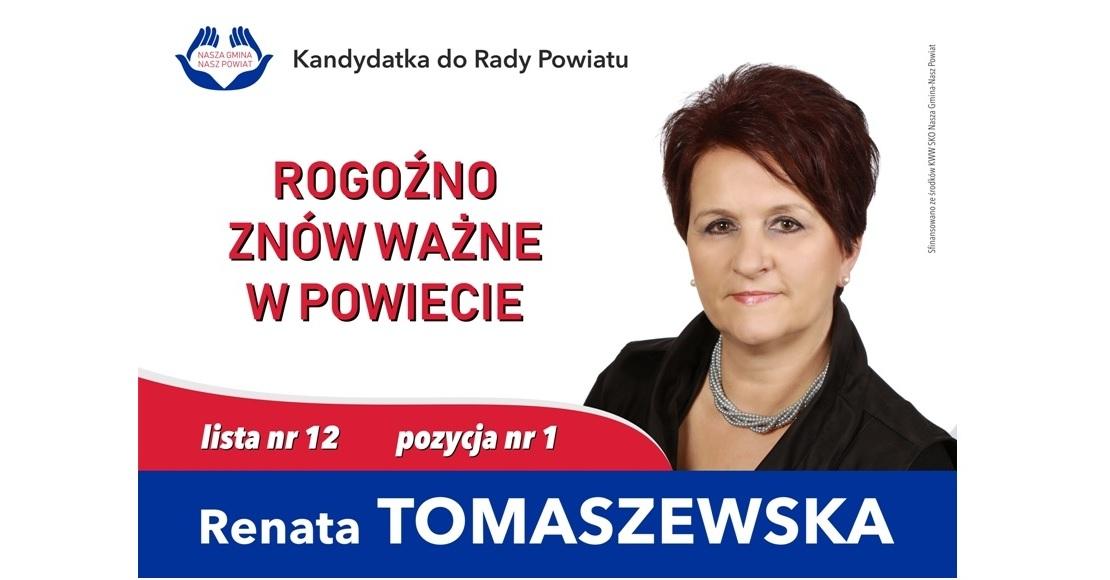 Czy Renata Tomaszewska zostawi sobie mandat radnej?