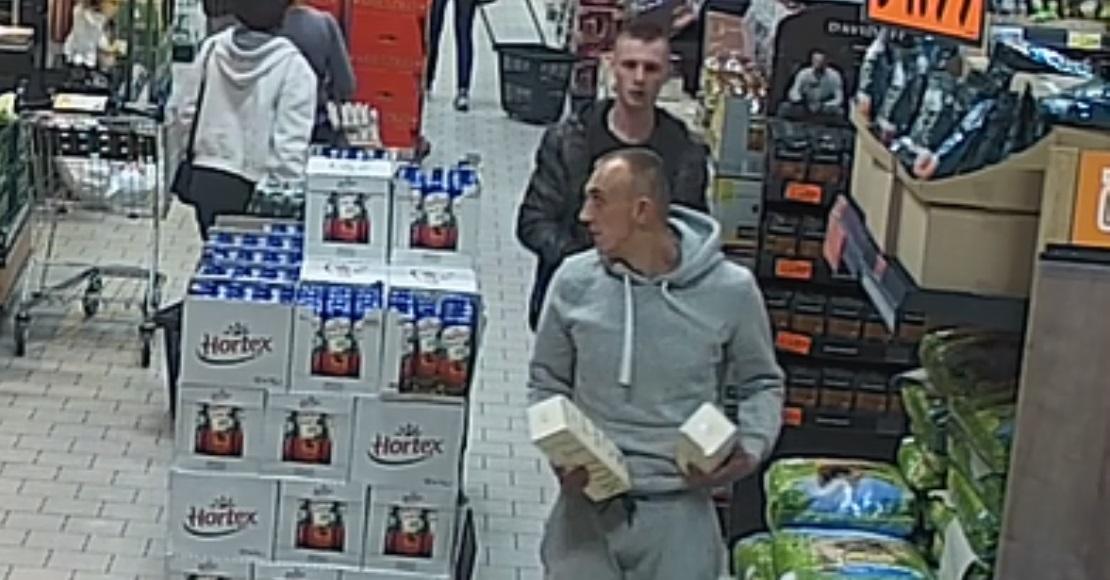 Ukradli alkohol, szuka ich policja