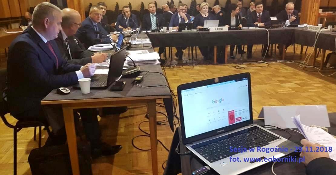 Komiczna sytuacja na sesji w Rogoźnie
