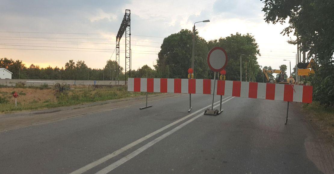 Przejazd na ul. Polnej w Obornikach zamknięty do środy