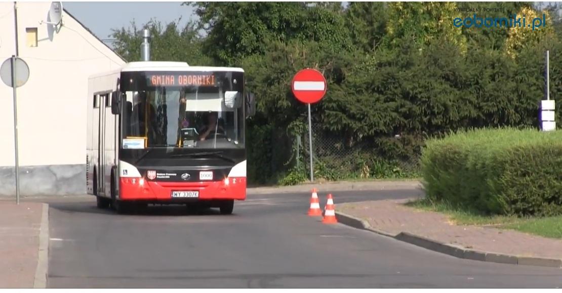 Zmiany w kursowaniu autobusów na targowisko w Obornikach