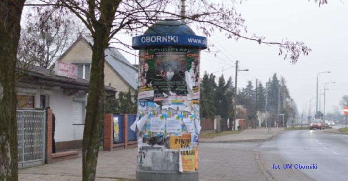 Plakaty na słupach ogłoszeniowych należy uzgadniać z PGKiM