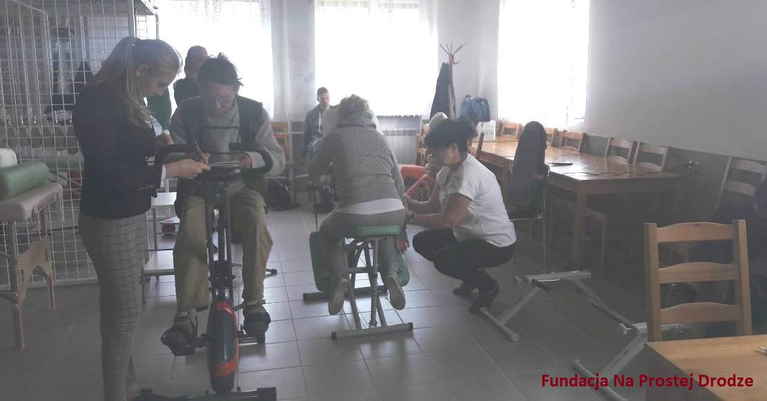 Fundacja Na Prostej Drodze prowadzi już rehabilitacje
