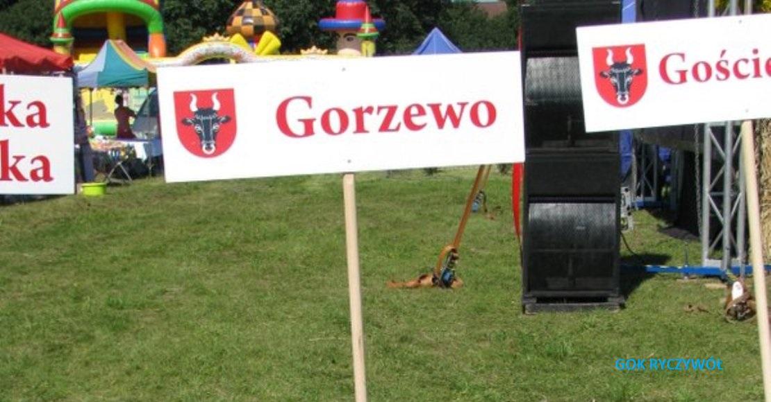 Czas na dożynki gminne w Gorzewie