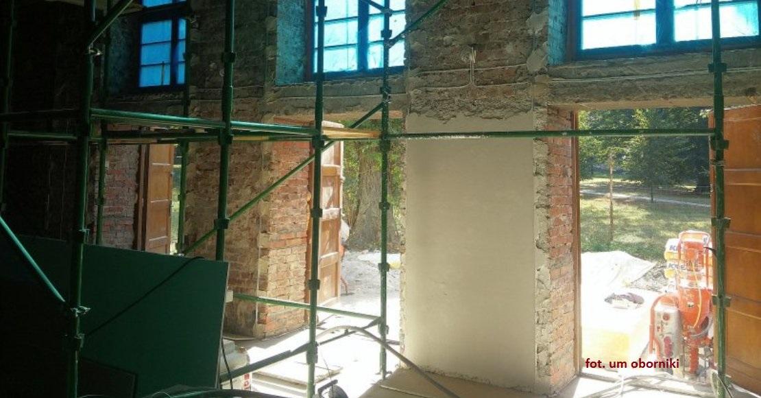 Trwa remont objezierskiego Domu Kultury