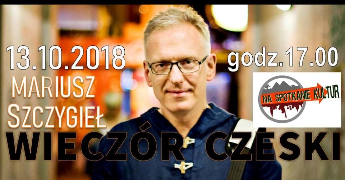 Mariusz Szczygieł i spotkanie z czeską kulturą w OOK