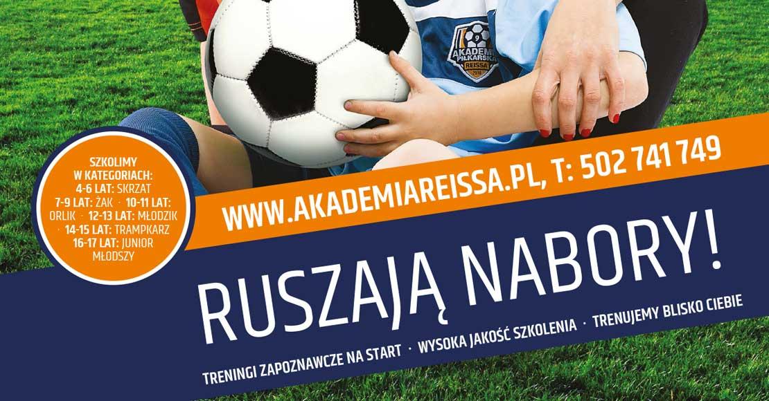 Ruszyły wiosenne nabory – rekordowe zainteresowanie Akademią Piłkarską Reissa trwa!