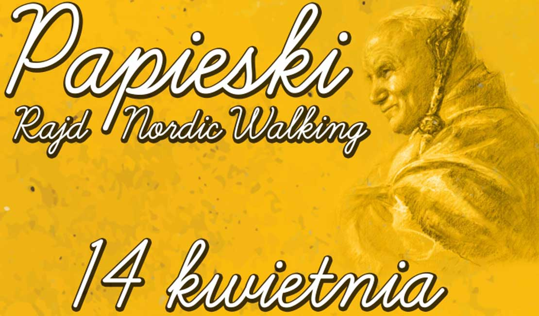 Papieski Rajd Nordic Walking - Oborniki, 14.04.2018