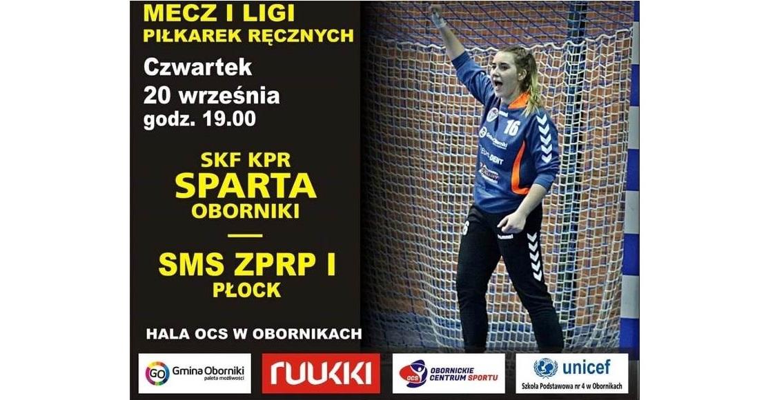 Dziś mecz spartanek z SMS Płock