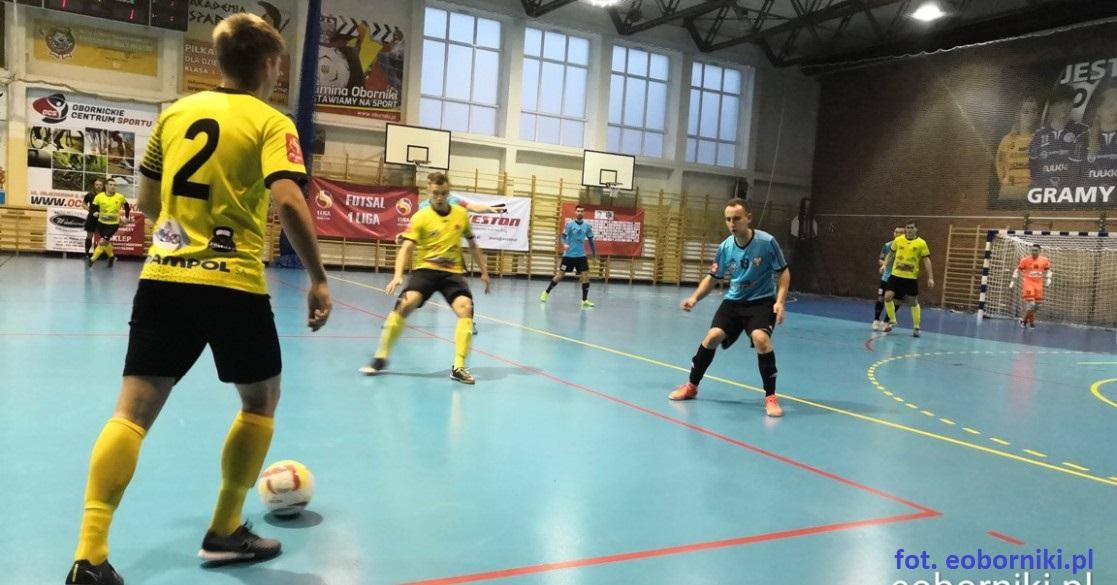 Emocjonujący mecz KS Futsal Oborniki z Heliosem (film)