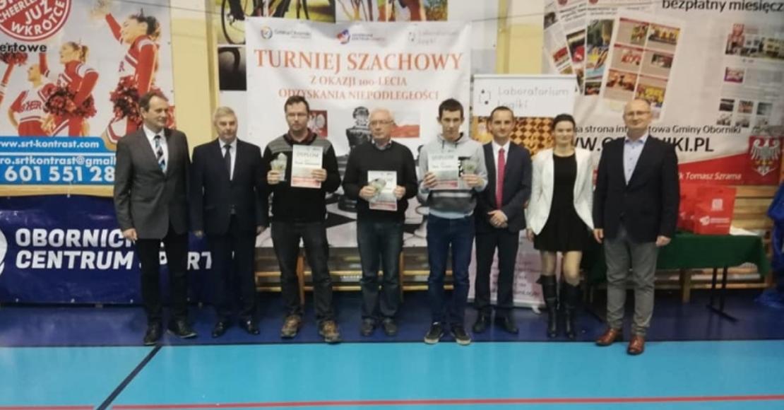 Mirosław Zając zwycięzcą turnieju szachowego