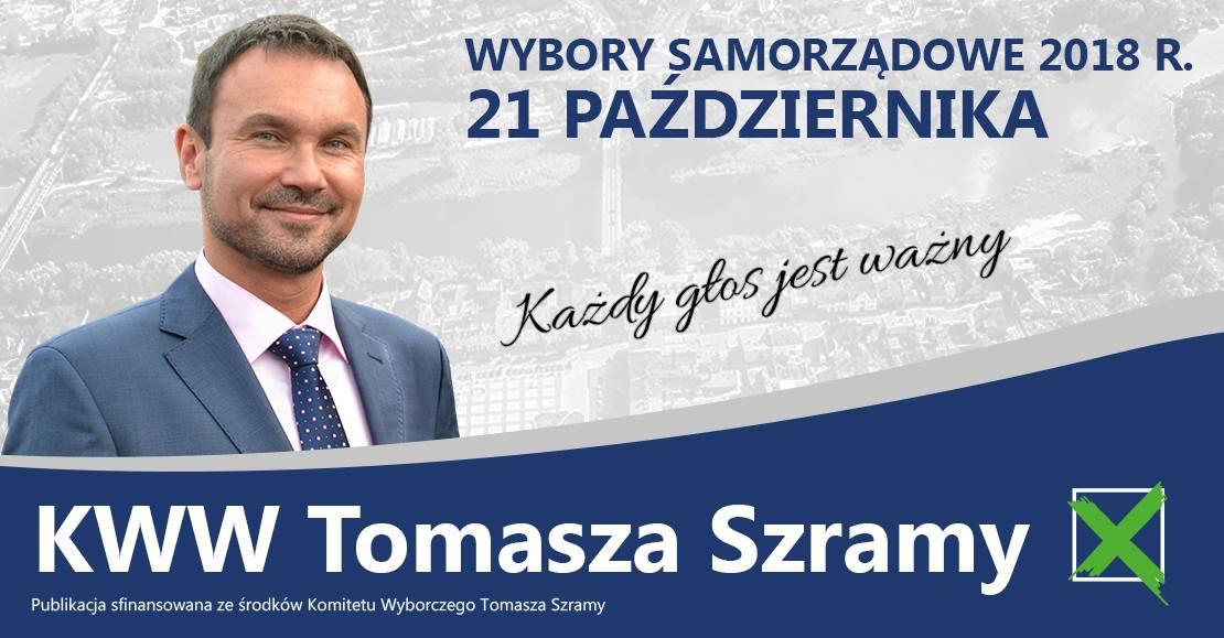 Tomasz Szrama oficjalnie kandydatem na Bumistrza Obornik