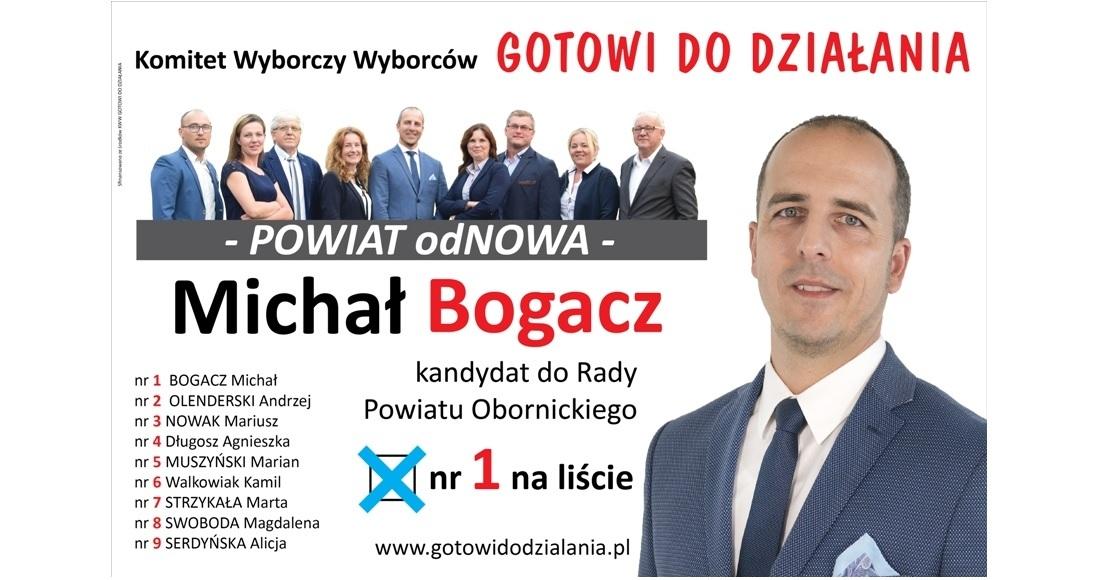Michał Bogacz - lider, jakich mało!