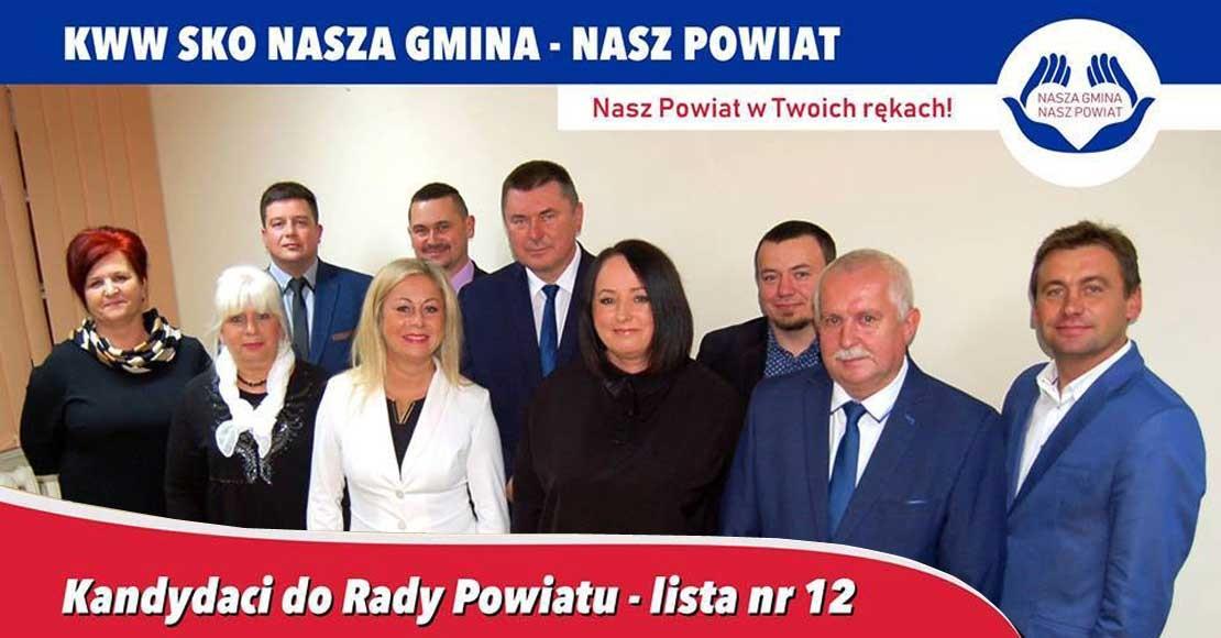 Kandydaci KWW SKO Nasza Gmina - Nasz Powiat