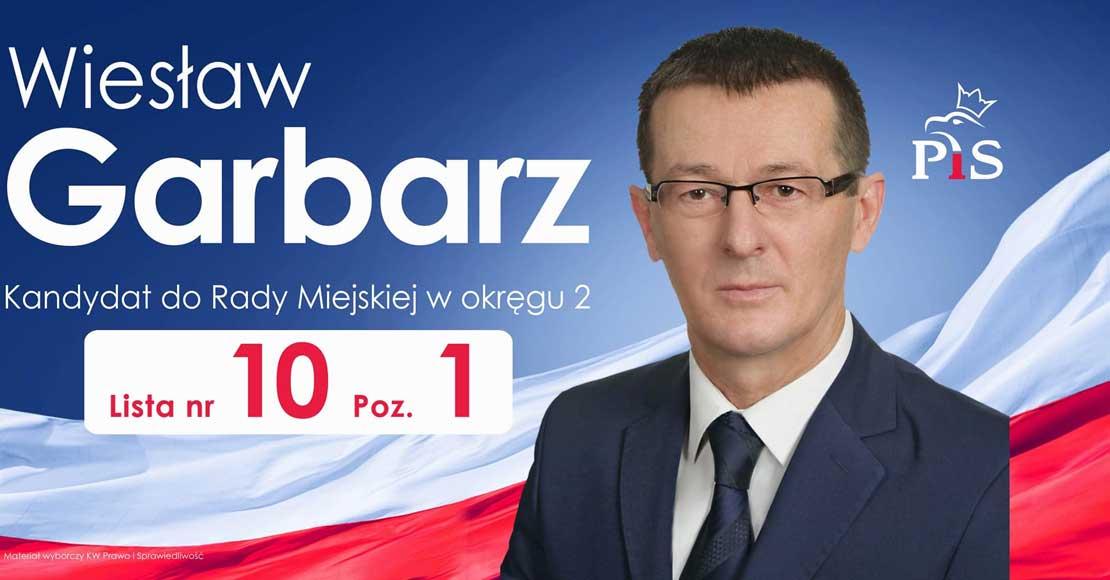 Wiesław Garbarz - kandydat na radnego Obornik
