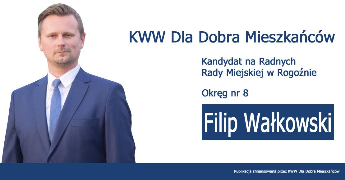 Filip Wałkowski - KWW Dla Dobra Mieszkańców
