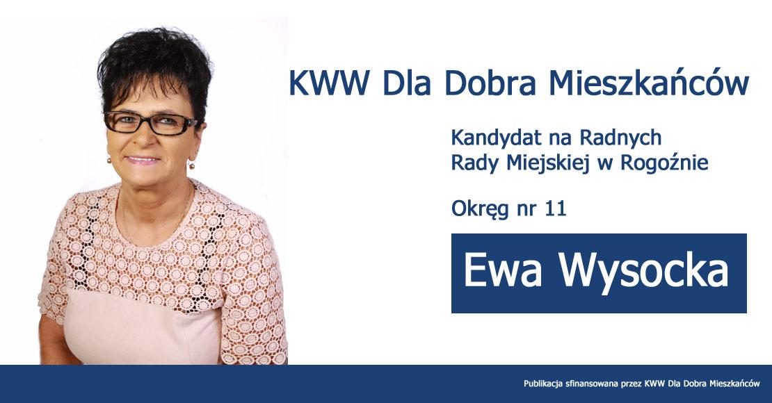 Ewa Wysocka - KWW Dla Dobra Mieszkańców (2)