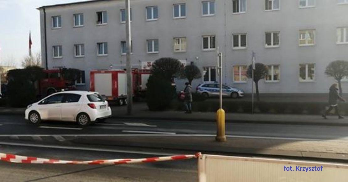 Zagrożenie biologiczno-chemiczne w Starostwie Powiatowym!