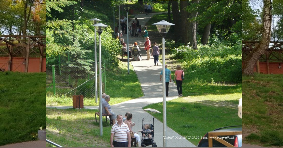 Łazienki Obornickie zyskają infrastrukturę wypoczynkową