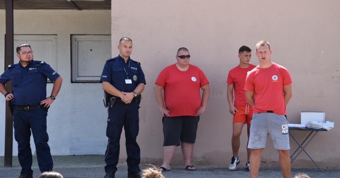 O bezpiecznych wakacjach rozmawiano w Rogoźnie (foto)