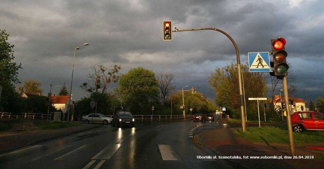Ostrzeżenie przed burzami i wiatrem