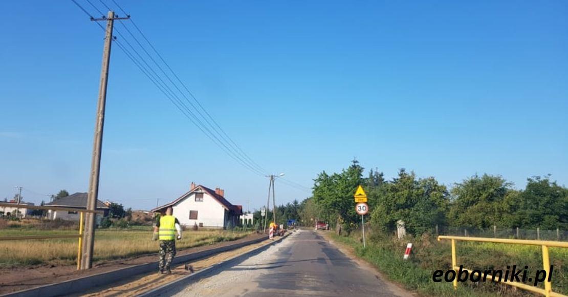 Dofinansowanie na drogę w Bogdanowie