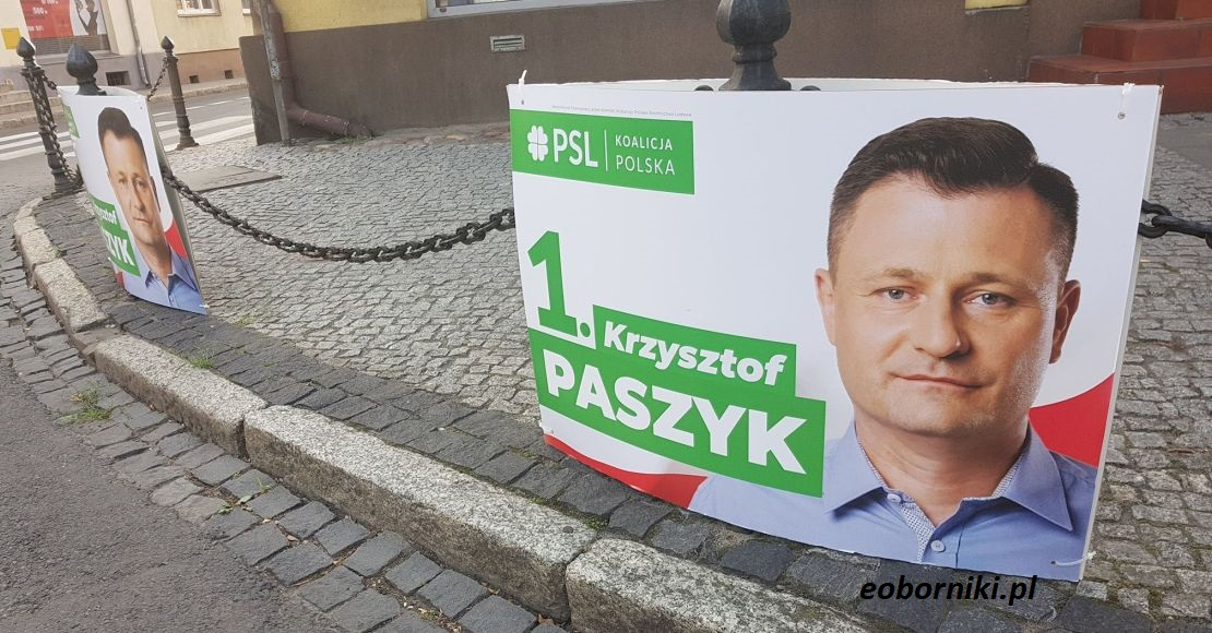 Krzysztof Paszyk przed Błażejem Pardą