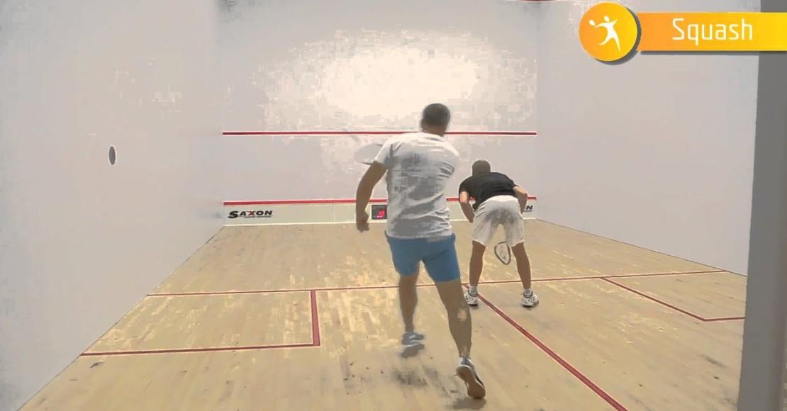 Trenuj squasha z Mistrzem Chorwacji