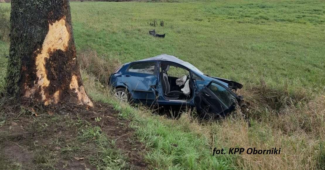 Policja poszukuje świadków wypadku w Ludomach