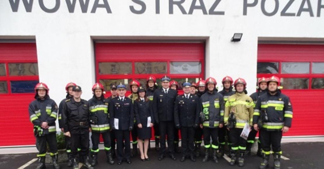 Uroczyste wręczenie nagród strażakom z KP PSP Oborniki