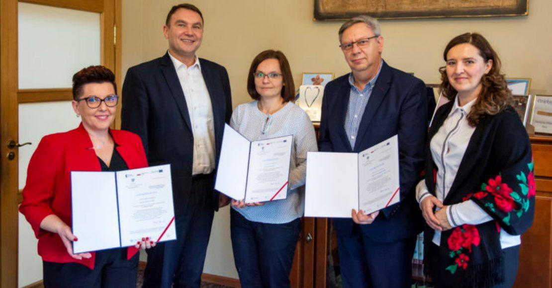 Praca obornickiego Ośrodka Pomocy Społecznej doceniona przez Ministerstwo
