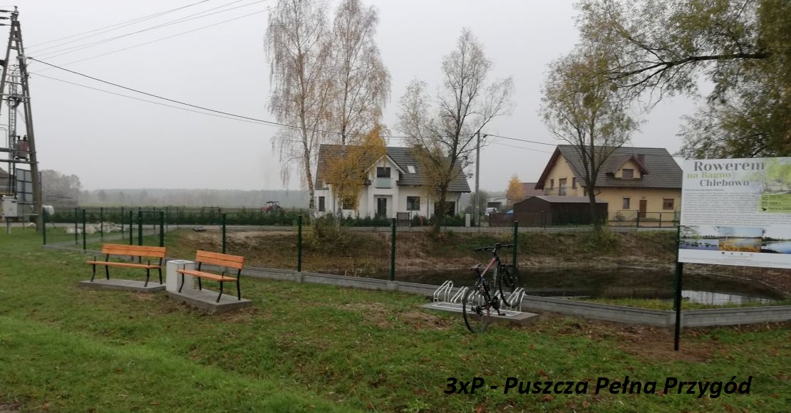 Pojechali rowerem na Bagno Chlebowo (foto)