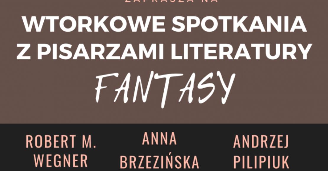 Wtorkowe spotkania z pisarzami literatury fantasy w Obornikach