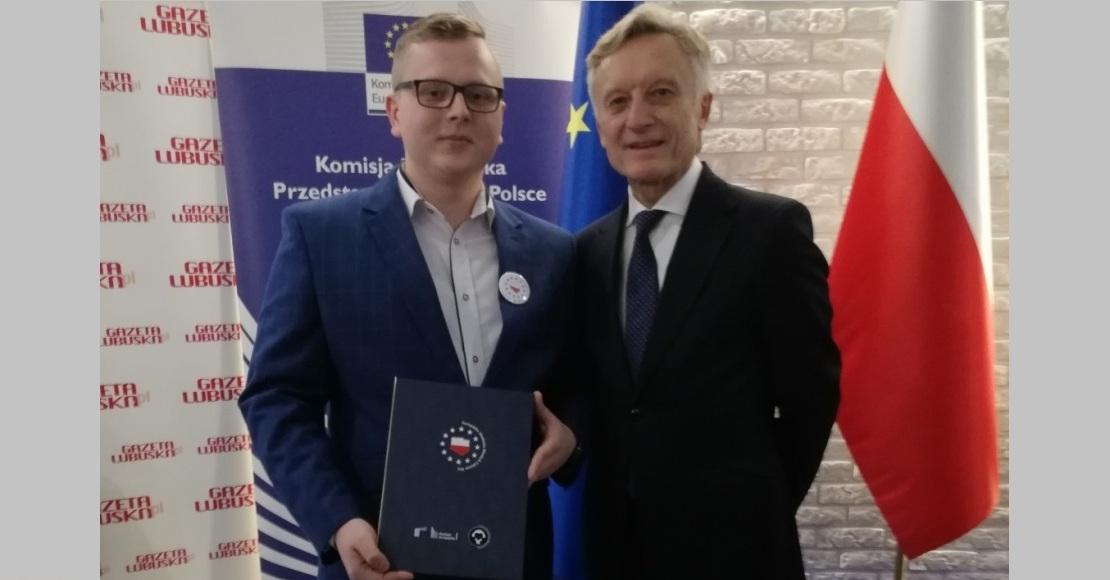 Radny Szymon Chmielewski na Europejskiej Akademii Młodych Liderów