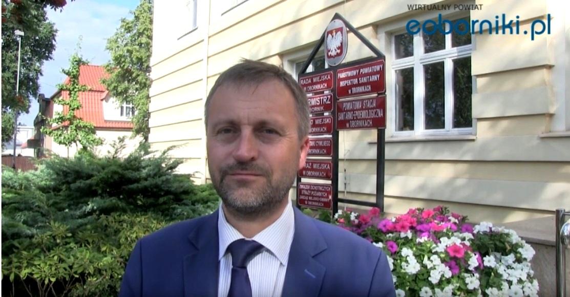 Zastępca Burmistrza Obornik głosuje codziennie na obie szkoły