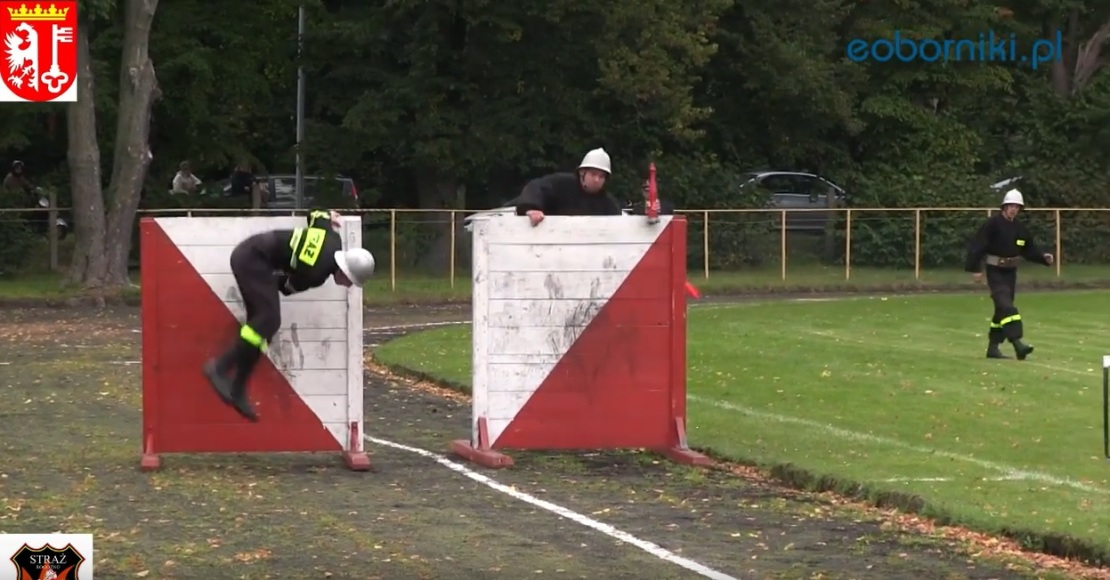 Gminne zawody sportowo-pożarnicze w Gościejewie