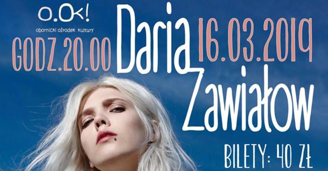 Żywiołowa Daria Zawiałow zaśpiewa w Obornikach (film)