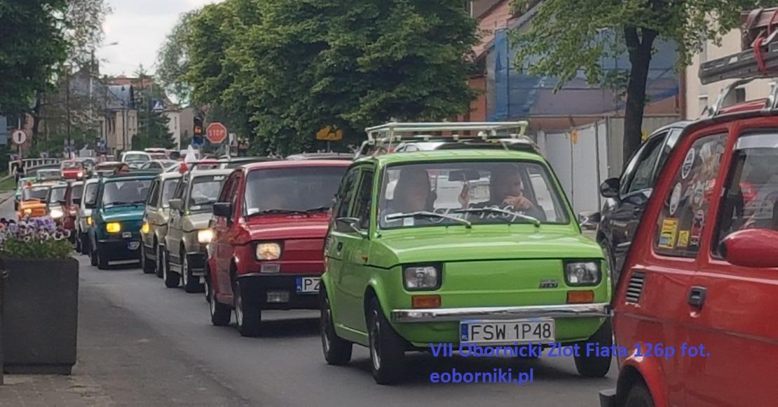 Maluchy przejechały ulicami Obornik (foto)