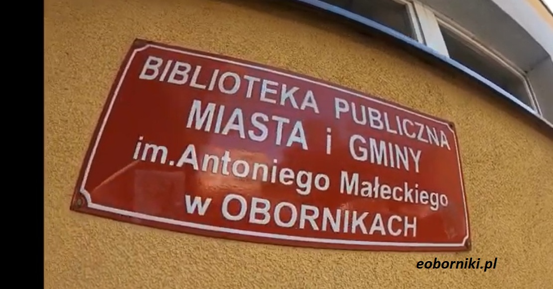 30-lecie nadania Bibliotece Publicznej w Obornikach imienia Antoniego Małeckiego
