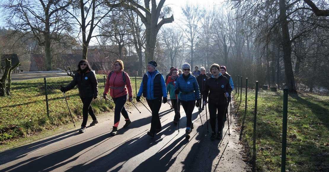 VII Zimowy Rajd Nordic Walking w wiosennych klimatach