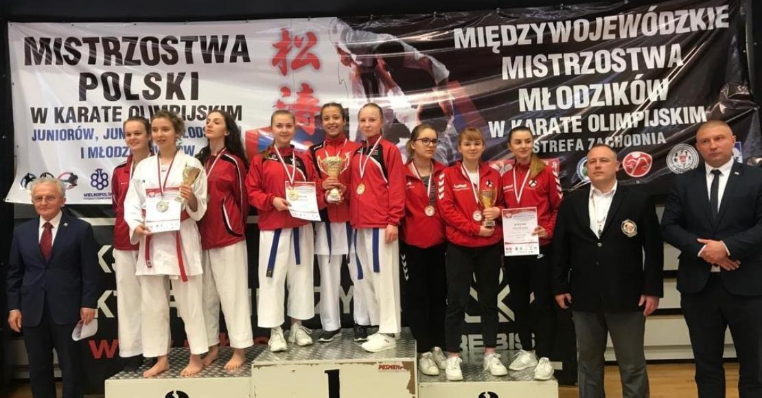 10 medali Karate Team Oborniki na Mistrzostwach Polski juniorów